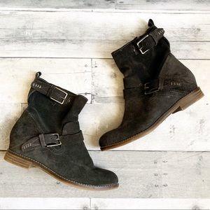 Dolce Vita | Dark Brown Suede Presley Ankle Boots